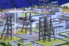 Presentatie van het Federale project van het Testcentrum Stock Afbeelding