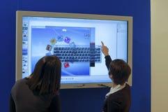 Presentatie van het professioneel e-scherm Royalty-vrije Stock Fotografie