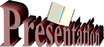 Presentatieillustratie Stock Illustratie