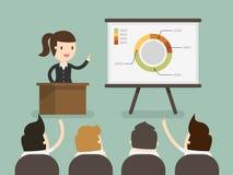 presentation stock illustrationer