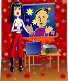 Presentation royalty free stock photo