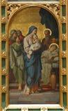Presentation av Jesus på tempelet Arkivfoto