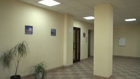 Presentation av lägenheter och rum Dyra reparationer ytter arkivfilmer