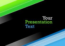 Presentation background Royalty Free Stock Photo