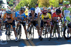 Presentation of the best pro riders at the start l Stock Photos
