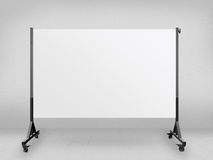 Presentation Board Against Wall Stock Photography