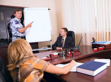 Presentation of business stock images