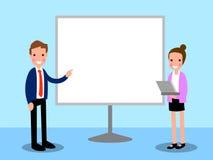 Presentation Business Cartoon Stock Photos