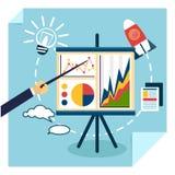 Presentation of business development concept Royalty Free Stock Photo