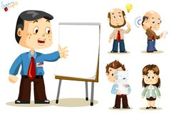Presentation. Business People Royalty Free Stock Image