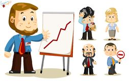 Presentation. Business People Royalty Free Stock Photography
