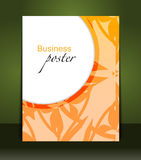 Presentation of business poster Royalty Free Stock Images