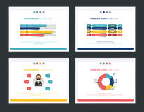 Presentation business templates. Royalty Free Stock Photo