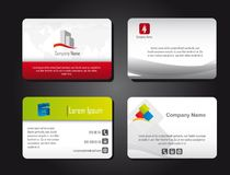 Presentation cards Stock Image