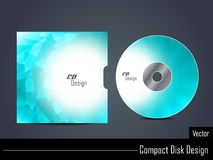 Presentation of elegant cd cover design. Stock Photography