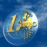 Presentation Euro. 3D Logo Presentation Graphic, Euro Glass Stock Photos