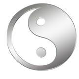 Presentation Feng Shui. 3D Logo Presentation Graphic, Feng Shui, Ying and Yang Royalty Free Stock Image
