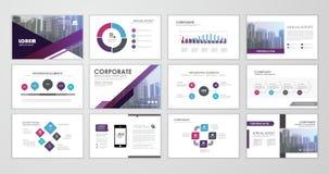 Presentation flyer concept Stock Photos