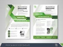 Presentation flyer design Royalty Free Stock Images