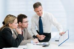 presentation för affärskontor Arkivbild