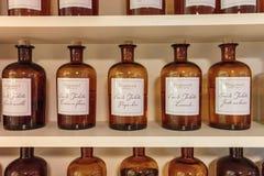 Presentation fragrances perfume  to the perfume factory Fragonar Royalty Free Stock Image