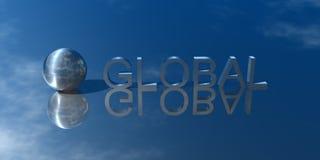 Presentation Global. 3D Logo Presentation Graphic, Global Stock Photo