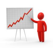 Presentation of growth Stock Images