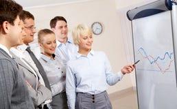 Presentation of idea Stock Photography