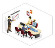 Presentation Isometric Stock Photo