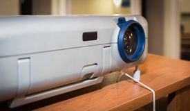Presentation with lcd projector Stock Image