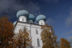 The  presentation  of  the  Lord  Church  of  the  village  of  the  North ,  Arkhangelsk. Royalty Free Stock Photo