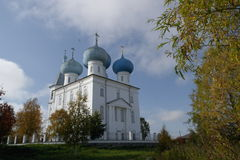 The  presentation  of  the  Lord  Church  of  the  village  of  the  North ,  Arkhangelsk. Stock Photos
