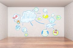 Presentation and marketing concept vector illustration