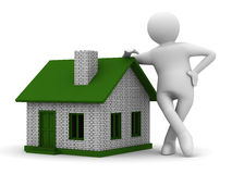 Presentation of new house Stock Images