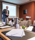 Presentation room Royalty Free Stock Photos