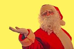 Presentation santa Stock Image