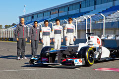 Presentation of the Sauber C-31, 2012 Stock Images
