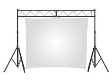 Presentation screen vector Stock Photo