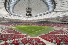 Presentation of the stadium roof Royalty Free Stock Photos