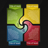 Presentation for team Stock Image