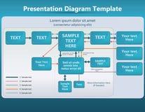 Presentation template Royalty Free Stock Photo