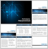 Presentation template Royalty Free Stock Photography