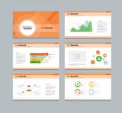 Presentation, template, infographic, business, vector, design, modern, set, illustration, layout, data, graph, background, chart, Stock Image