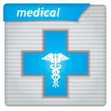 Presentation template - medical Stock Images