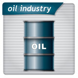 Presentation Template - Oil Industry Royalty Free Stock Photo