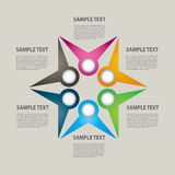 Presentation template Stock Photos