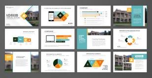 corporate slideshow templates stock vector illustration of company