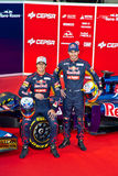 Presentation of the Toro Rosso STR7, 2012 Stock Photo
