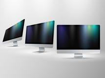 Presentation vector displays Stock Photos