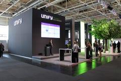 Presentationen av Unify på mars 20, 2015 Royaltyfria Bilder